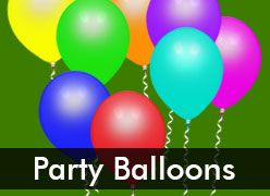 Party Balloons & Accessories