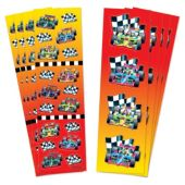 Race Car Stickers-88 Pack