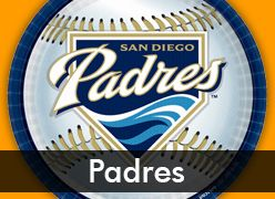 San Diego Padres Party Supplies