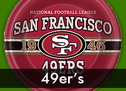 San Francisco 49er's Party Supplies