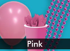 Pink Party Supplies & Decorations