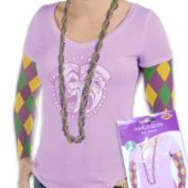 Mardi Gras Party Sleeves - Pair