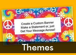 Theme Party Custom Banners