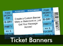 Ticket Custom Banners